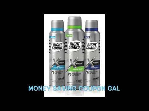 HURRY AND GET A FREE RIGHT GUARD XTREME DEODORANT!!!