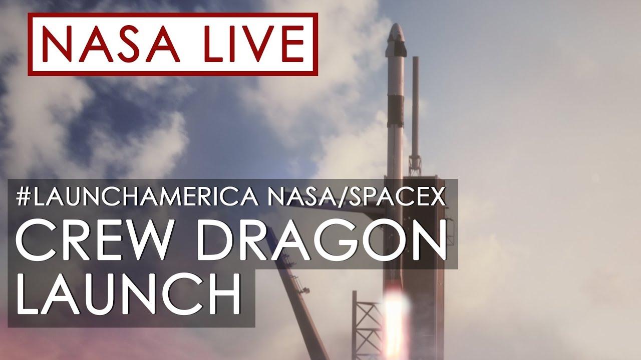 NASA и SpaceX запускают астронавтов на МКС
