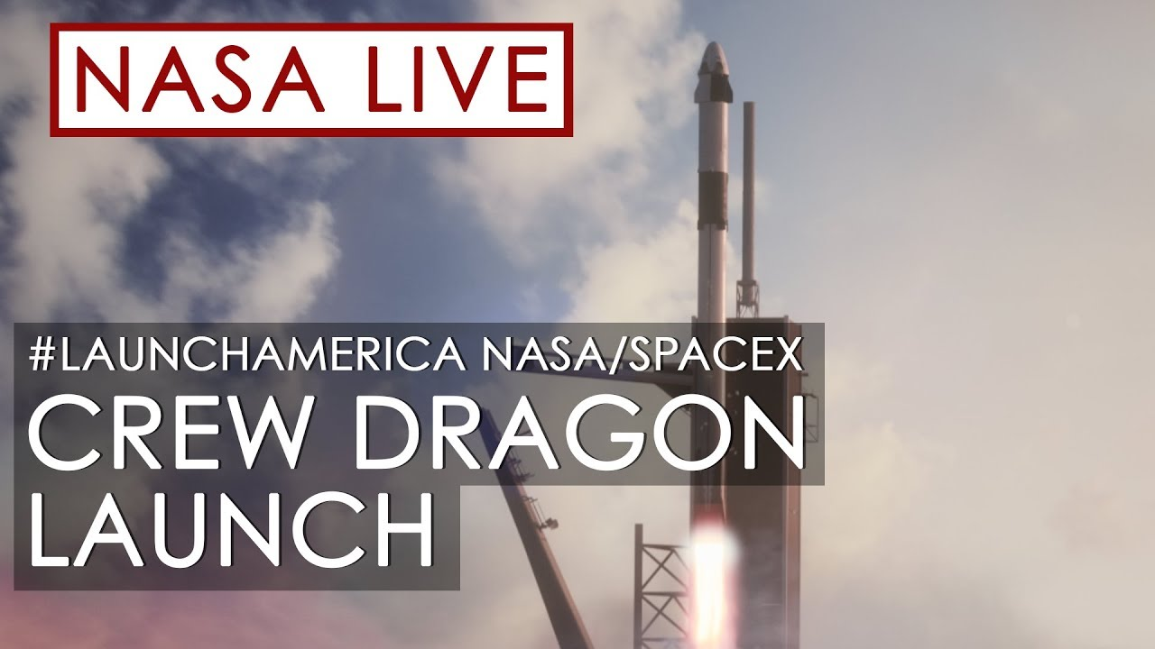 NASA и SpaceX запускают астронавтов на МКС - ОТМЕНЁН