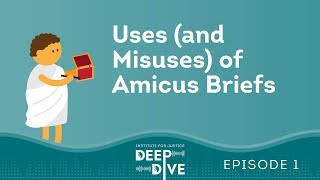 Deep Dive Episode 1:  Amicus Briefs