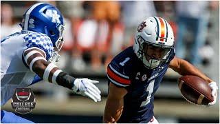 Kentucky Wildcats Vs. Auburn Tigers | 2020 College Football Highlights