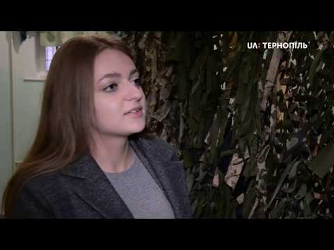 UA: Тернопіль: Студенти-історики повезли маскувальні сітки до військової бригади до Львова