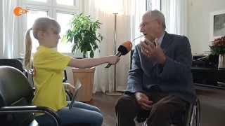 Kinderreporterin interviewt Wolfgang Schäuble (CDU)