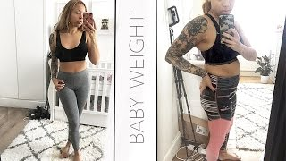 HOW I LOST THE BABY WEIGHT | Samantha Maria