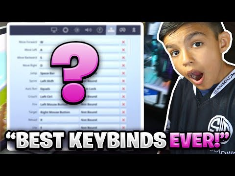 Mini Mamba's Official Fortnite Keybinds Reveal! Best 11 Year Old Fortnite Player!