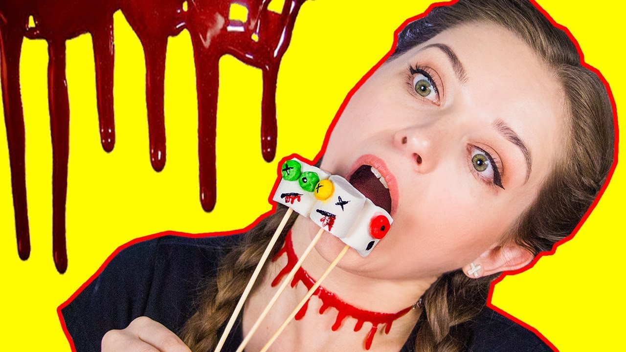 ВКУСНЯШКИ на Halloween / Проверяю рецепты из интернета / Фудхаки 🐞 Afinka
