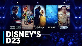 Disney•Pixar Animation Presentation at D23 2017