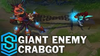 Giant Enemy Crabgot (Urgot 2017) Skin Spotlight - Pre-Release - League of Legends thumbnail