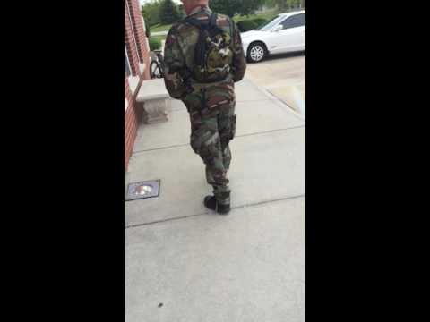 Fake Vietnam veteran confronted at doctors office, Plainfield Indiana