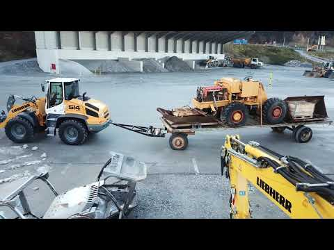 Liebherr - The LSL 1500 shovel loader