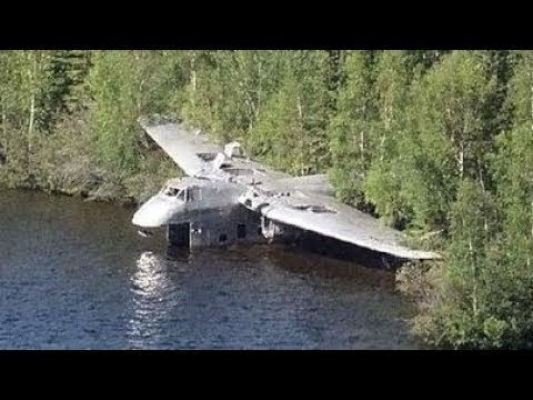 12 Самых Нереальных Заброшенных Самолетов