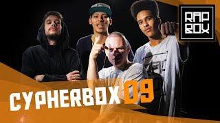 """Cypherbox 9 -Vietnã, H.E, Bino e V.H - """"QUEBRADA"""" [Prod. Leo Casa1]"""