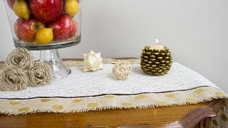How To Sew A Holiday Table Runner