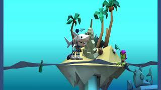 FIGHT A TWINS 3D SHARK CARTOON/3D CARTOON VIDEO SHARK