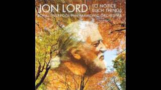 jon lord i as i walked out one evening