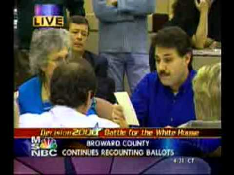 Florida Officials Disagree on Voter Intent During 2000 US Presidential Election Recount
