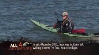 Jason Beachcroft: Kayaker Circumnavigating Australia Solo
