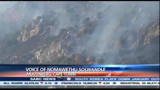 One fire fighter injured in Muizenberg fire