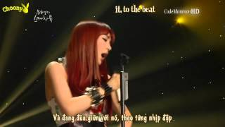 [Vietsub + Kara] TIFFANY (티파니) - Rolling In The Deep (Live in Sketchbook 120601)