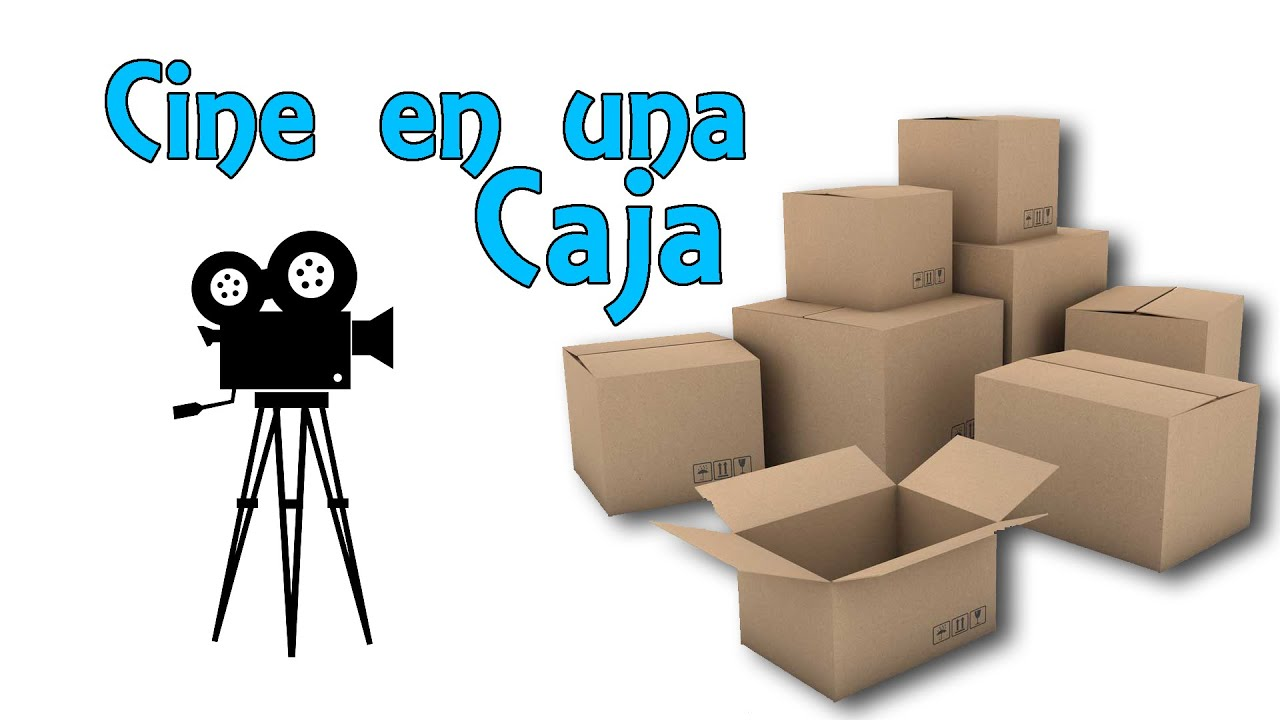 Cine en una caja  Cmara oscura casera Experimentos Caseros