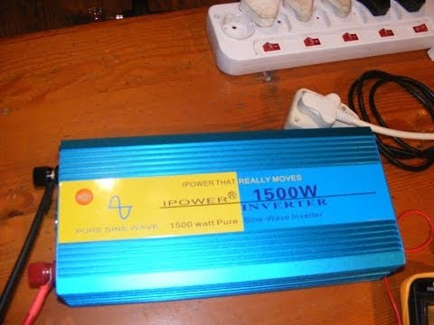 iPower / Doxin pure sine wave inverter 1500w review