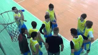 Городские соревнования, волейбол Школа №17, Иркутск. Первая игра 04.02.16 2-я партия