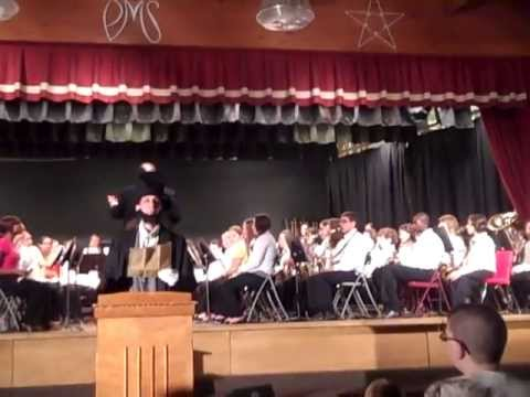 Phillipsburg Middle School Orchestra performance assembly May 24, 2013 Lincoln