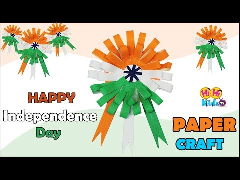 Happy Independence Day | How to make a Paper Bow | Easy Origami Bow