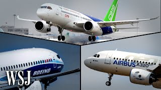 How Boeing and Airbus Could Counter China's Homegrown Comac Jets   WSJ
