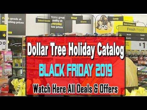 Black Friday Deals 2019 - Dollar Tree Holiday Catalog Ad Scans 2019