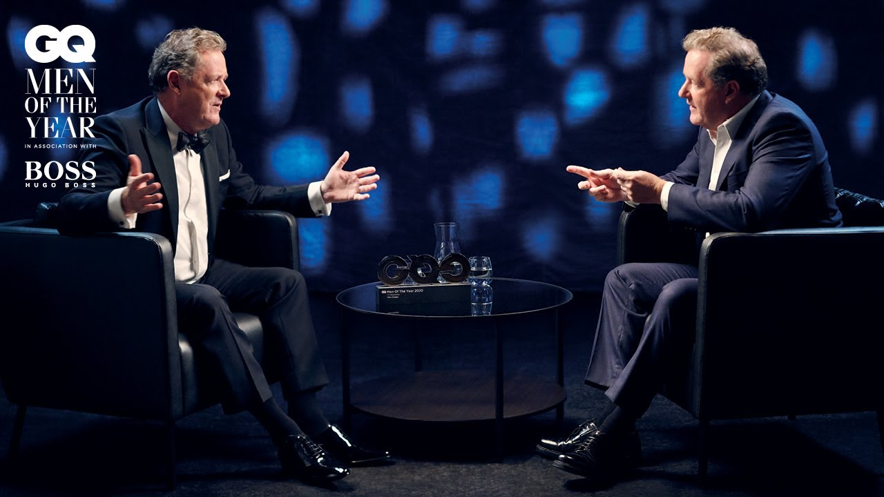 Piers Morgan interviews Piers Morgan  Men Of The Year