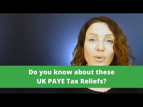 Tax Relief on UK PAYE Expenses