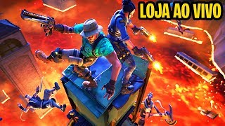 FORTNITE LIVE UNTIL THE STORE UPGRADE TO 150 SKINS-NEW FLOOR MODE IT'S LAVA IN THE FORTNITE