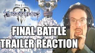 Kingdom Hearts III (3) FINAL BATTLE TRAILER REACTION