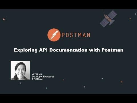 API documentation with Postman
