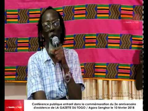 Les professeurs Togoata APEDO-AMAH et David DOSSEH parlent des élites togolaises