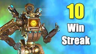 The LONGEST Win Streak (PATHFINDER IS BACK) in Apex Legends