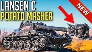 NEW Potato Masher is Here! • Swedish Lansen C ► World of Tanks Lansen C Gameplay