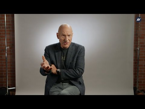 Sir Patrick Stewart is pretty goddamn upset about Donald Trump