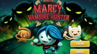 Games: Adventure Time - Marcy, The Vampire Hunter