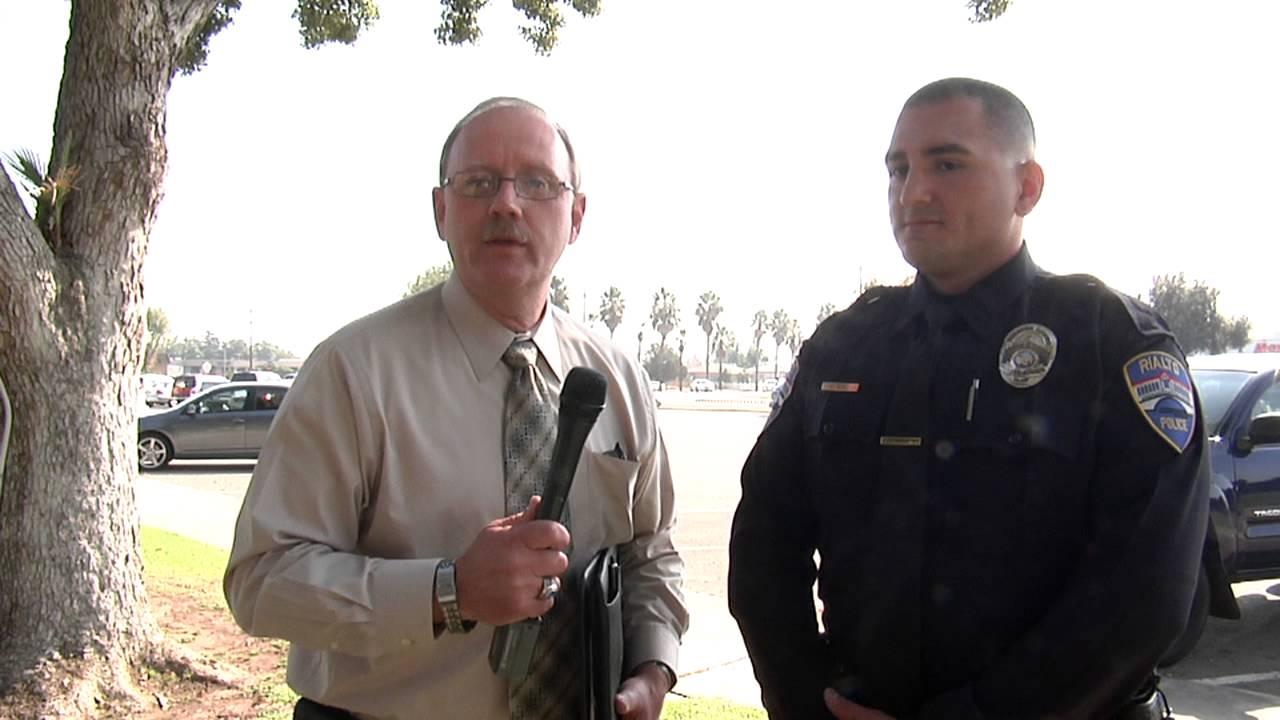 Rialto Police Officer Sworn in. 11-18-13 - YouTube