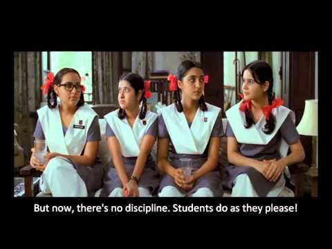 India - Cadbury Dairy Milk Shots - Girls discussing college TV Commercial