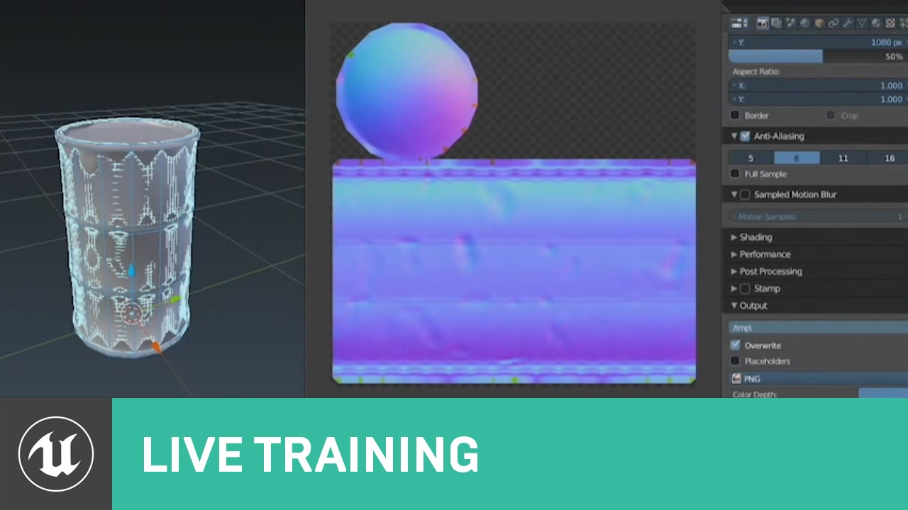 From Blender to UE4 – Material and Texture | Variable 63