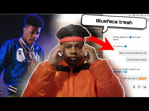 BLUEFACE Dm'd ORANGEFACE About The Diss On Him...