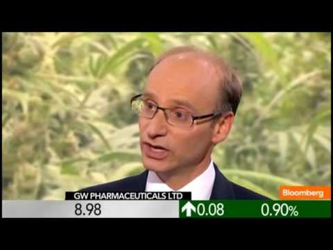 THE FUTURE OF MARIJUANA BASED MEDICATION: GW PHARMACEUTICALS On BLOOMBERG