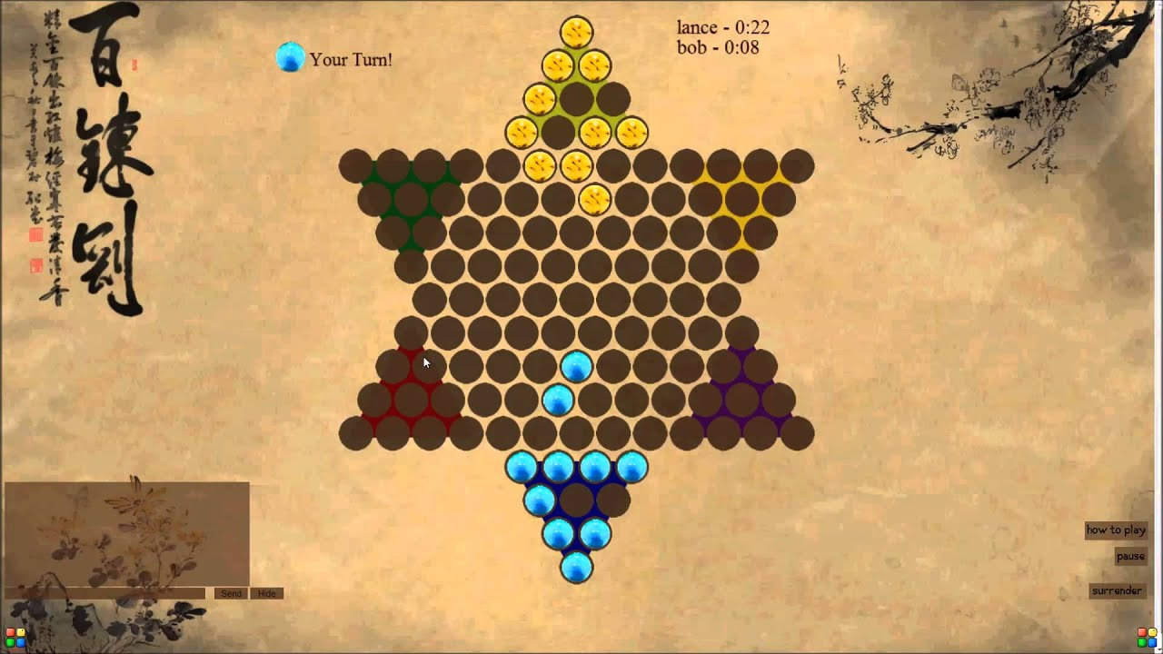 Chinese checkers multiplayer