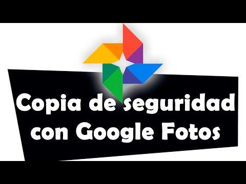 C�mo hacer copia de seguridad de fotos y v�deos con Google Fotos