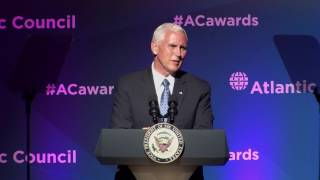 2017 Distinguished Leadership Awards – VP Mike Pence and Amb. C. Boyden Gray