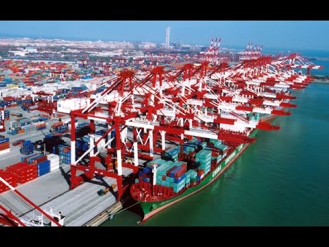 MegaStructures - China's Ultimate Port (National Geographic Documentary)