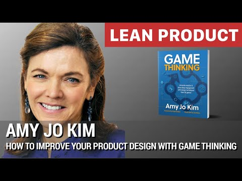 """How to Improve Your Product Design with Game Thinking"" by Amy Jo Kim at Lean Product Meetup"